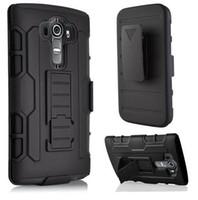 Wholesale k3 note covers online – custom For LG K10 V10 G3 G5 LS770 Stylus Stylo Plus Case armor Hybrid For LG G4 Note Mini K3 LS450 K5 K4 K7 Q6 Cover Belt Clip
