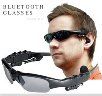 Wholesale Electronics Wholesale Headphones - ear-hook Smart Sunglasses Wireless Polarized Eyewear Headset Bluetooth Headphones For Android huawei   IOS iphone Smart Electronics