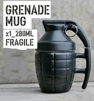 Wholesale China Wholesale Arms - Wholesale- Creative Army Fans Soldier Arms Design Ceramic Coffee Milk Mug Water Cup Cafe Mug with Lid and Handgrip for Gift