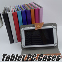 """Wholesale Phablet Dhl - DHL 7 Inch 9 Inch 10 Inch Leather Smart Case Cover Stand Case for 7"""" 9"""" 10"""" Tablet PC 3G Phablet G-PT"""