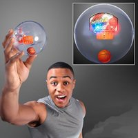 Wholesale Funny Party Games - Handheld Magic Basketball Game Player with Flash LED and Sound Hand Toys with music Funny party Game for Kids Adults