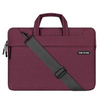 Sac pour ordinateur portable 15 pouces, sac à bandoulière pour ordinateur portable en tissu polyester Porte-documents pour 15 pouces Laptop / Notebook / MacBook / Ult