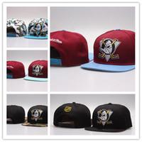 Wholesale Snapbacks Duck - New Fashion Cheap 2017 NHL Mighty Hockey Snapback Hats Anaheim Ducks bone cap Flat Fashion nhl Hats sports Cheap mens & women baseball caps