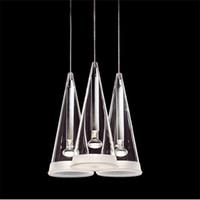 Wholesale Ce Design Hotel - Modern Flos Fucsia pendant lamp suspension lighting chandelier light 3 6 8 12 heads Chandelier Ceiling Light designed by Achille Castiglioni