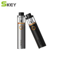 Smoke Vape Pen 22 Starter Kit E Cigarettes 1650mah Batterie Avec 0.3ohm Remplacement Double Bobine Indicateur LED Al-en-un Kit