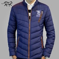 Wholesale New Pattern Clothes For Men - Wholesale- New Arrival Winter Jacket Men Fashion Brand Clothing Casual Jackets and Coats for Male Warm Thick Cotton Pad Men's Parkas M-3XL