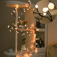 Wholesale Bulb Tree - 8.2ft 72 Bulbs LED Globe String Lights Waterproof Fairy Starry Light LED Decorative Lights for Bedroom Patio Garden Wedding Party Christmas