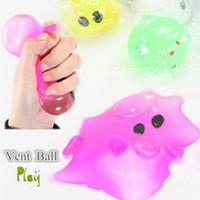 Wholesale Smash Toys Wholesale - Anti-stress Decompression Splat Ball Vent Toy Smash Various Styles Pig Toys