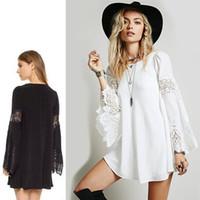 ff00ba9a3ec0 Vestiti di maternità donne incinte donna merletto Hollow Estate  Abbigliamento Stile Europeo Plus Dimensione Abbigliamento Nero Bianco  Vendita calda