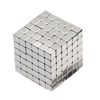 Wholesale Fantasy Puzzle - 3mm 4mm 5mm Size 216pcs Cube Magnetic Balls 6*6*6 Grade N35 Neodymium Cubo Magico Magnet Puzzle Educational Toy Metaballs