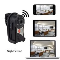 Wholesale Dvr Camera Infrared - HD Thumb Wifi DVR Wireless IP Camera IR Night Vision Portable Car Monitor Hidden Spy Camera Detection Camcorder Video Recorder
