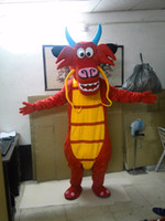Wholesale Red Dragon Mascot Costume - High quality Mushu dragon mascot costumes for sale dragon mascot Costume Character Costume dragon