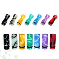 Wholesale T4 Electronic Cigarettes - 510 Ming Drip Tip EGO Plastic Drip Tips Mouthpiece Colorful for EE2 Vivi Nova DCT T4 510 Electronic Cigarette Clearomizer