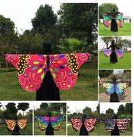 Wholesale Butterfly Robes - 2017 Multi-style 147*70cm Bohemia Printed Beach Towel cartoon Butterfly Design Beach Shawl Yoga Mat