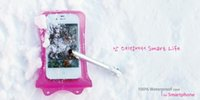 Wholesale Wrist Straps For Bags - WP-i10 Waterproof Bag with & Wrist Strap for Apple iPhone 4 4S 5 5C 5S ,free shipping