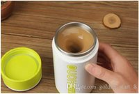 Wholesale Self Stirring Coffee Cup Mugs Automatic stirring coffee milk tea cup the stainless steel tank mixing cup