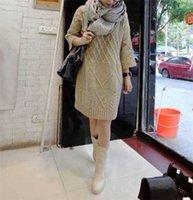 Wholesale Acrylic Tunic Sweaters - Wholesale-New Women Autumn Winter Tunics Korea Asymmetrical Sweaters Casual Loose Plus Size Pullover Knitted Women Sweater