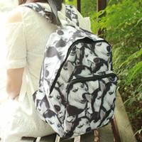 Wholesale Soft Dog Backpacks - Husky Doge backpack Huskie dog daypack Whole printing schoolbag Picture rucksack Sport school bag Outdoor day pack