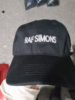 Wholesale Raf Cap - wholesale Raf Simons DAD HAT NASA I NEED MY SPACE 6 panel Calabascas Kanye Hat Shrek bone masculino snapback baseball cap men hip hop gorra