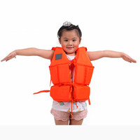 Wholesale Special Whistle - Bubble Child Lifejackets with Whistles Swimsuit Special Reservoir Inflatable Boat Essential Goods