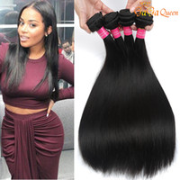 Wholesale Nature Straight - Brazilian Virgin Hair Straight 4 Bundles Deals 7a Unprocessed Brazilian Straight Hair 100% Brazilian Hair Weave Bundles Nature Black