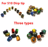 Wholesale free electronics online - Vaporizer Epoxy Resin Drip Tip Epoxy Drip Tip Mouthpiece for E Cigs Electronic Cigarette RDA Atomizers Resin Material Free Ship
