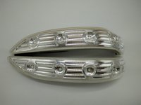 espelhos hyundai venda por atacado-Lâmpada de espelho retrovisor à prova d'água para 2009-2011 2013-2015 Hyundai IX35 espelho retrovisor LED indicadores de volta luz da lâmpada lateral