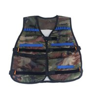 Wholesale Dart Bow - Hot 54*47cm Ammo Holder For N-Strike Elite Pistol Bullets Clip Darts Children Gifts Tactical Vest Jacket Waistcoat Toy Model Guns