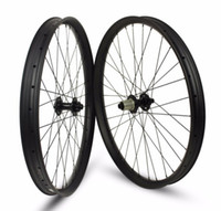 Wholesale Carbon Clincher 29er - 29er MTB Carbon wheelset 35mm width with boost hub 15*110 and 12*148 Thru Axle
