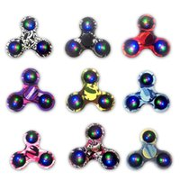 Wholesale Kid Toy Screws - LED Glowing Fingertip Gyro Toys Fingertip EDC Screw Hand Spinner For Autism and ADHD Relief Focus Anxiety