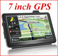 Wholesale Hand Held Portable Gps - 7 inch portable GPS navigation vehicle navigator Car Navigator exports the European and American trade global l atp203