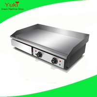 Wholesale Griddles Electric - Popular Electric Griddle Machine Stainless Steel Griddle Pan Pancake Maker Commercial Pancake Making Machine Meat Griddle