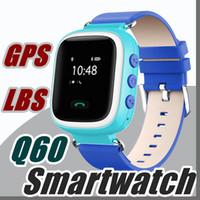 reloj smart оптовых-2017 Q60 GPS GSM GPRS Smart Watch Reloj Intelligente Locator Tracker Anti-потерянный удаленный монитор Smartwatch лучший подарок для детей Дети BB-BS