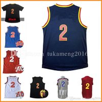 Wholesale Champions Basketball Jerseys - wholesale 2 Kyrie Irving Basketball Jerseys Stitched 2017 All star Christmas Throwback Champion Kevin Love Jersey Sleeve Tshirt Youth