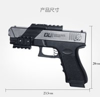 Wholesale Paintball Marker - A6 StorFree shipping 2017 G18 G17 antomatic firing Toy Gun Gel ball bullet toy guns water bullet Carbine pistol toys for Children cool gifts