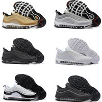 Wholesale Canvas Cushions - High quality New Men Air Cushion 97 Breathable Low Running Shoes Cheap Massage 97s Flat Sneakers Sports Outdoor Shoes