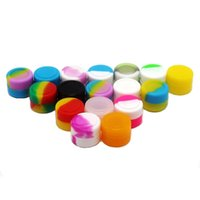 Wholesale Sealing Wax Sticks Wholesale - New 2ml Silicone Container Nogoo Concentrate Wax Jar For Dabs Non-stick Silicone Jar Seals 100pcs lot