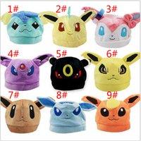 Wholesale nose caps resale online - Hot sale colors pet elf nose monkey plush baby hat M061
