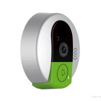 Wholesale Peephole Video Doorbell - New Doorcam C95 IP door camera eye HD 720P Wireless Doorbell WiFi Via Android Phone Control video peephole door camera wifi