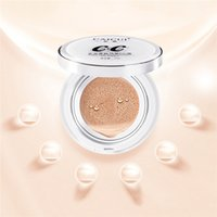 Wholesale wholesale replacement cushions - Air Cushion CC Cream Concealer Moisturizing Nutritious Foundation Makeup Bare Strong Face Beauty Makeup with replacement head 1214008