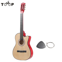 """Wholesale 38 Acoustic Guitar - Wholesale-High Quality 6-String Folk Acoustic Guitar 38"""" Basswood Guitar with Durable Pick and Strings for Beginners Music Lovers Gift"""