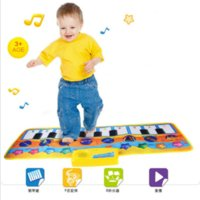 Wholesale Children Education Pad - Children Piano Music Blanket Baby Multi - functional Animal Climbing Pad Early Education Puzzle Toys Cartoon Electronic Piano Blanket