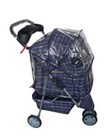 Wholesale Outdoor Dog Mats - New Large Blue Plaid 3 Wheels Pet Dog Cat Stroller Cage Free