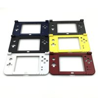 Wholesale Shell Housing Nintendo - Replacement Hinge Part Black Bottom Middle Shell Frame Housing Case For Nintendo New 3DS LL XL 2015 New Verison DHL FEDEX FREE SHIPPING