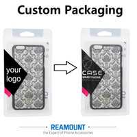 Wholesale Bag Companies - New Arrival DIY Custom Company Name Zipper Lock Plastic Clear PVC Pakckaging Bags for Phone Case for iphone 7 7plus Phone Case Packaging Bag