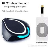 Wholesale Quick Car Battery Charger - Creator Mini Multifunction QI Wireless battery charger Fast Charger For Samsung S6 S6 Edge s6 iPhone 6 7 edge plus note 7 5 Wireless Chargin