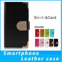 Wholesale protective phone cases zte for sale – best Luxury For iphone x PU Flip Wallet Phone Case For ZTE zmax pro Z981 Metropcs ZTE Avid MetroPCS Cover Protective Wallet