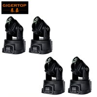 Wholesale Moving Head Rgb Spot - Cheap Price 4Pcs Lot 15W RGB LED Mini moving head spot light multicolor change DMX controller STAGE LIGHTING for DJ party 5 13CH