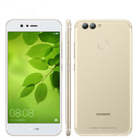 "Wholesale tri proof phones - Original Huawei Nova 2 Plus 4G LTE Mobile Phone Kirin 659 Octa Core 4GB RAM 128GB ROM Android 5.5"" 2.5D Glass 20.0MP Three Camera Cell Phone"