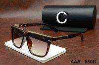 Wholesale Eyeglasses Child - Ca zal Sun glasses Eyewear 650 Luxury Polarized Vintage Mens Womens Aviator Sunglasses Brand Designer Oversized Big Frame Eyeglasses